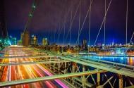 高架大桥美丽夜景图片(10张)