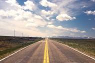 平坦的公路图片(15张)