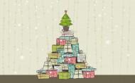 手绘圣诞树图片(7张)