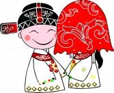 中式婚礼卡通图片(50张)
