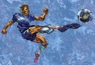 卡通足球运动插画矢量图片(7张)