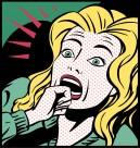 卡通插画女性表情矢量图片(22张)