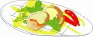 卡通快餐矢量图片(18张)