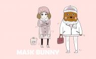 可爱的面具兔系列卡通图片(22张)
