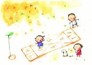 卡通童年的美丽时光矢量图片(50张)