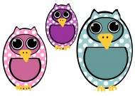 卡通猫头鹰素材图片(13张)