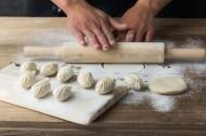 美味饺子制作过程图片(10张)
