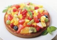 五彩缤纷的水果蛋糕图片(6张)