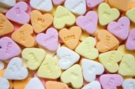 彩色的心形糖果图片(10张)
