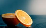 新鲜脐橙和切片图片(11张)