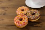 好吃美味甜甜圈图片(18张)