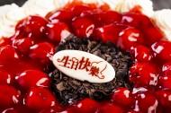 可口香甜的水果奶油蛋糕图片(11张)