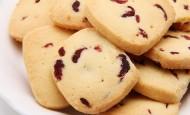 美味蔓越莓曲奇饼干图片(5张)