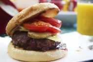 美味的汉堡包图片(13张)