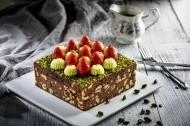 美味可口的水果蛋糕图片(10张)