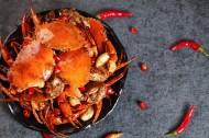 鲜嫩肥美的大闸蟹图片(8张)