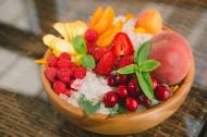 新鲜的水果拼盘图片(6张)