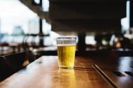 玻璃杯中的啤酒图片(14张)