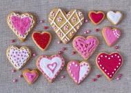 创意心形饼干图片(12张)
