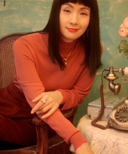 陶虹齐刘海魅力性感写真图片