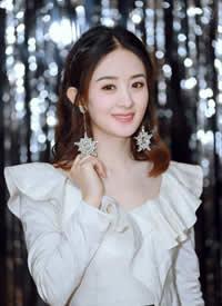俏皮可爱又不失高贵典雅的公主赵丽颖