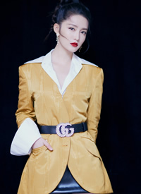 李沁时尚利落风格写真图片欣赏
