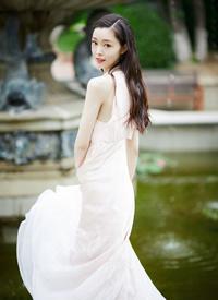 宋轶纯白甜美写真图片欣赏