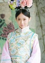 歌手隽子哥旗袍写真 变身格格完爆陈妍希