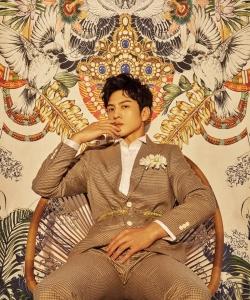 演员马敬涵复古时尚写真图片