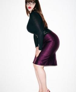 凯特·戴琳斯性感时尚写真图片