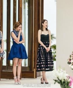 张俪的这件裙子貌似是Max&Co.很赞 如果爱第一季