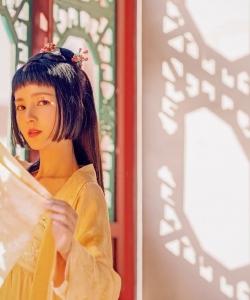 程小蒙古风造型性感图片