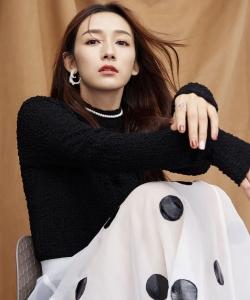 李若宁清新甜美写真图片