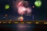 澳门国际烟花节的烟花图片(10张)