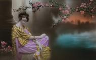 彩色复古女士影像图片(158张)