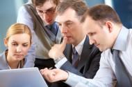 办公室小组会议图片(12张)