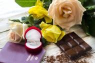 咖啡鲜花戒指巧克力礼品素材图片(19张)