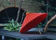 日式庭院油伞图片(6张)