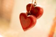 木质爱心形状挂饰图片(7张)