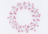 清新小花朵圆形边框图片(14张)