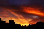 黄昏时天空美景图片(10张)