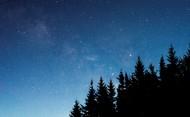 繁星点点的星空图片(18张)