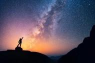 唯美的高山星空图片(12张)