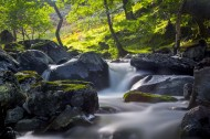 淙淙流水风景图片(10张)