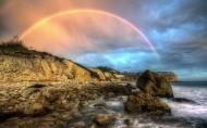 夏天的彩虹图片(12张)