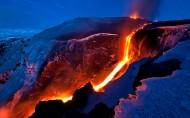 壮丽火山风景图片(9张)