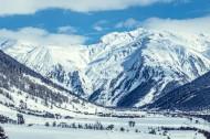 巍峨的雪山图片(14张)