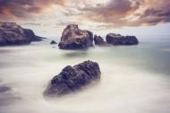 海边礁石图片(21张)