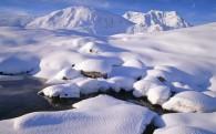 浪漫雪景图片(20张)