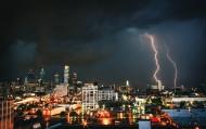 可怕的闪电图片(12张)